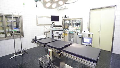 幅広い手術に対応・入院も可能