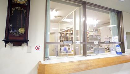 お薬の処方も院内で可能